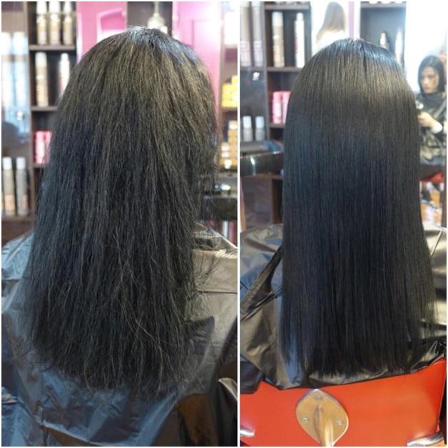 Tratrament cu keratina pentru păr